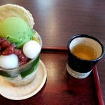 MAIKO茶ブティック - 抹茶パフェ
