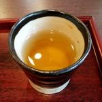 MAIKO茶ブティック - 抹茶と一緒に出てきたほうじ茶