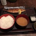 84657950 - 鯖塩焼き定食