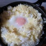 和洋食道 Ecru - 南部鉄板焼きチーズライス