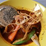 和洋食道 Ecru - チキンと野菜のスープカレー
