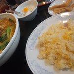 香羽楼 - 坦々麺チャーハンセット890円