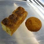 84660894 - メープルちぎりパン、半熟卵のキーマカレーパン