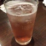 窯焼きビストロ 博多 NUKU NUKU - 桜ハイボール