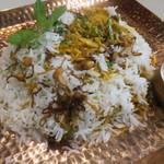 バンゲラズ キッチン - ビリヤニ(カワハギ)