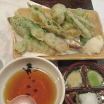 だい人 - 山菜天ぷら