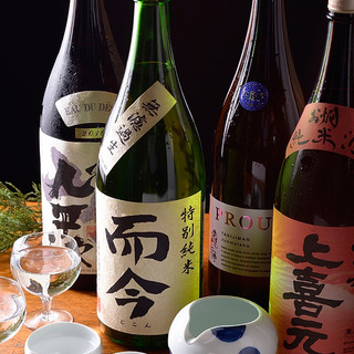 東海三県をはじめ全国から厳選した日本酒