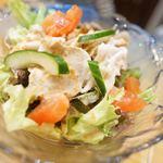 屋台村じゅんちゃん - あぐー冷しゃぶサラダ