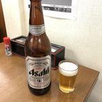 おがわうどん - ビール