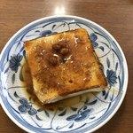 おがわうどん - 味噌おでん 豆腐