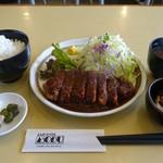 MOBU - ランチ・みそカツ定食☆