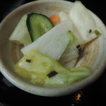 串焼 マルワ - お漬物