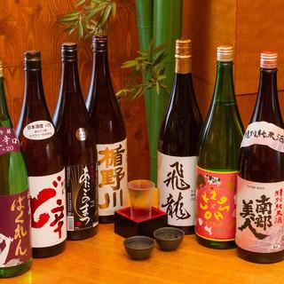 【地酒飲み放題】30種類以上の飲み比べをお楽しみ頂けます☆