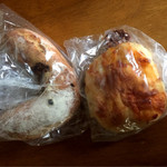ベーカリーバカンス - くるみとブルーチーズのパン&チーズブレッド