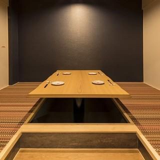 【個室完備】接待、還暦顔合わせなどに大人気の個室ございます。
