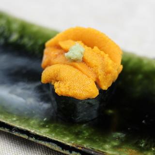 四季の旬は寿司で味わう。最高の味に仕上げていきます。