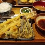 スギノタマ - 穴子一本定食1000円 デカい!