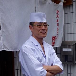 """寿司一筋の大将による新しい""""寿司""""との出会い――。"""