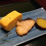 花源 - ◆鰆幽庵焼き、サツマイモの甘露煮、玉子焼など