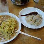 宝楽 - 冷麺定食850円