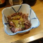 晩杯屋 - ホタルイカ酢味噌(180円)