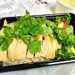 MR.CHICKEN鶏飯店 - シンガポールチキンライス・ホワイト(蒸し鶏) 650円