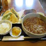 鹿林 - 料理写真:そば定食(900円)