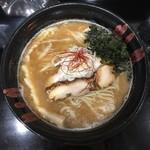 雁木 - 料理写真:魚節醤油拉麺 800円