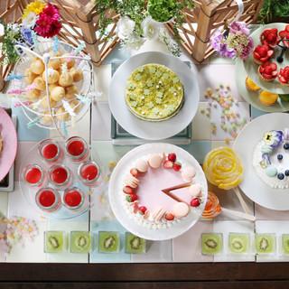3月16日から開催【桜とルビーチョコのデザートブッフェ】