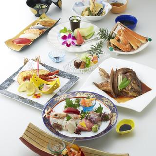 ◇旬菜・旬魚◇季節の食材を、華やかな一皿に変えてお客様へ○