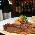 牛サーロインのステーキ  400g