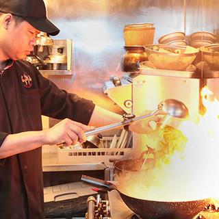 10年以上の経験を持った、タイ人シェフが作る本格料理に舌鼓♪