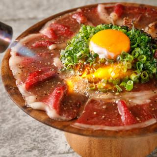 【注文率99%】霜降り牛炙りカルパッチョ★5バル来たらこれ!