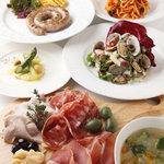 ヴェルデ ウーノ - 毎月季節の食材、料理を厳選しメニューを構成してます。