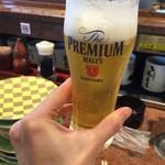 根室花まる - 半生ビール