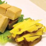 食彩酒房 くりや - クリームチーズの味噌漬け