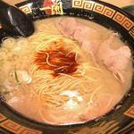 一蘭  - 料理写真:●ラーメン+替玉980円税込