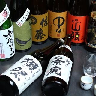 """日本酒!取り揃えてます【今話題の""""獺祭""""常備あります。】"""
