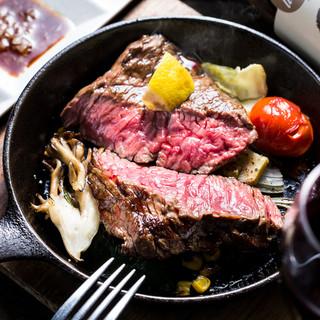 スプリガン名物◆葡萄牛のカイノミステーキ!