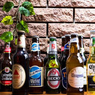 世界のビール勢ぞろい◎定番からレアな1本まで!