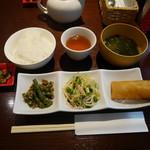 hoisam China TAKE - 前菜3種盛り