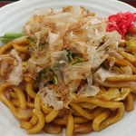 山田うどん - 料理写真:焼きうどん 580円