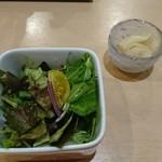 寿司 こまさ - サラダとガリ