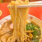 本家 アロチ 丸高 - 麺はモチモチ