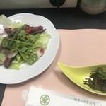 青葉 - 料理写真:前菜 鹿肉カルパッチョ風