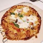 イタリアンダイニングペスカ - これが あの有名な『パイピザ』 (^_^;)