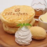 メープルとバターのスフレパンケーキ
