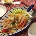 ムアンタイ - 青いパパイヤサラダ(ソム・タム・タイ)