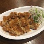龍影 - 鶏の唐揚げ野菜おろしソース(800円)
