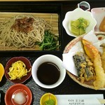 勇次郎 - 料理写真:しんぷる天盛り膳 1,050円